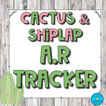 Cactus & Shiplap A.R Tracker