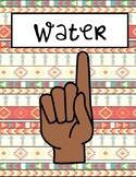 Cactus / Southwestern Themed Classroom Hand Signals