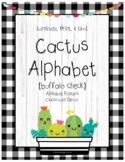Cactus Succulent Alphabet Posters