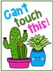 Cactus & Succulent Bulletin Board Display & Welcome Sign