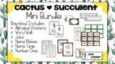 Cactus | Succulent Classroom Decor: Mini Bundle