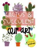 Cactus & Succulent Clip Art