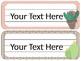 Cactus - Succulent - Southwest Theme Desk Tags/Name Plates {EDITABLE}