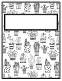 13 Products, Back to School, Succulents Printable Decor Elementary School Bundle