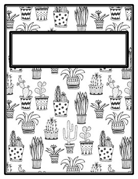 Free Printable Cactus Coloring For Kids Comparing Numbers ... | 350x270