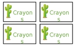 Cactus Supply labels ***editable****