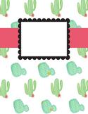 Cactus Teacher Planner *Editable*