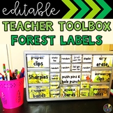 Forest Teacher Toolbox Labels