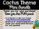 Cactus Theme Classroom Decor: Build Your Own Mini Bundle