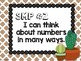 Cactus Theme Classroom Decor: Standards for Mathematical Practice