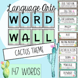 Cactus Theme ELA Word Wall