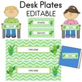 Desk Plates EDITABLE