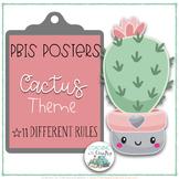 Cactus Theme PBIS Posters