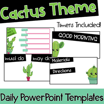 Powerpoint Templates With Timer Worksheets & Teaching