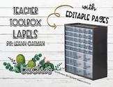 Cactus Themed 39 Drawer Teacher TOolbox