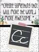 Cactus Themed ABCs of Kindness Alphabet Posters