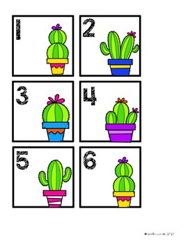 Cactus Themed Behavior Chart