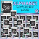 Cactus Themed Alphabet Posters 8x10