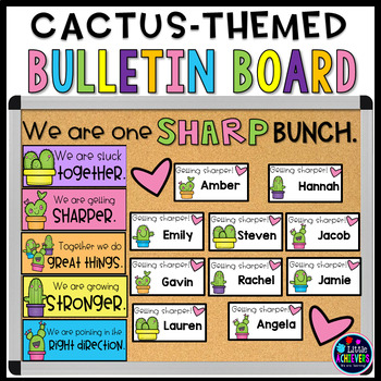 Cactus-Themed Bulletin Board Ideas