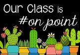 Cactus Themed Class Door Display