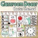 Cactus Themed Classroom Decor Bundle