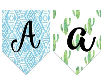Cactus Themed Editable Banners