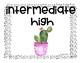 Cactus Themed Language Proficiency Posters