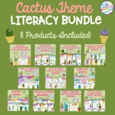 Cactus Themed Literacy Bundle **11 Products Included**