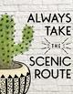 Cactus Themed Motivational Quotes: Classroom Decor