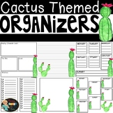 Cactus Themed Organizers