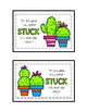 Cactus Themed Postcard Freebie!