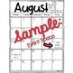 Cactus Themed Printable Calendar- Editable!