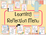 Cactus Themed Reflection Menu-Posters & Spinners