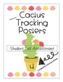Cactus Themed Student Tracking Posters for Self-Assessment