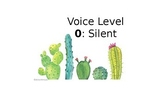 Cactus Themed Voice Levels
