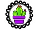 Cactus Themed Word Wall Letters