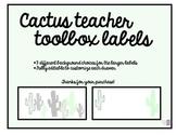 Cactus Toolbox