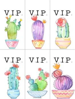 Cactus VIP Desk Set