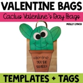 Cactus Valentine's Day Treat Bags