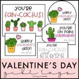 Cactus Valentines & Valentine's Day Gift Tags