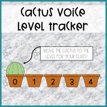 Cactus Voice Level Tracker
