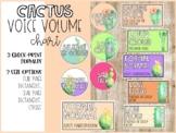 Voice Volume Chart - Cactus