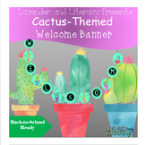 Cactus Welcome Banner