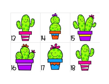 Cactus What Stuck With You Today Exit Ticket Board Kit