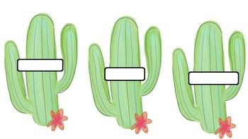 Cactus Wishlist
