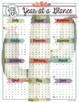 Cactus Year at a Glance Bundle