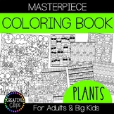 Cactus and Plant Coloring Pages: Masterpieces {Made by Cre