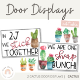 Cactus and Succulent Door Display   Cactus Themed Decor Range