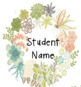 Cactus and Succulent Labels and Goals