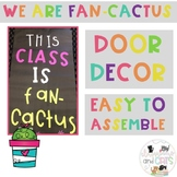Cactus back to school bulletin board or door decor